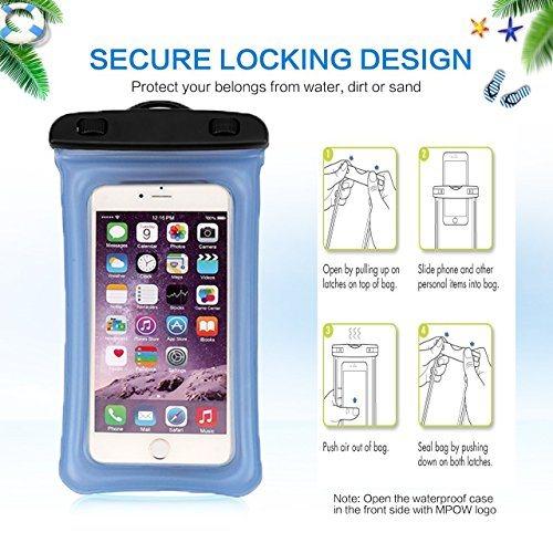Waterproof Phone Case Floating Waterproof Pouch Cell Phone Dry Bag Universal