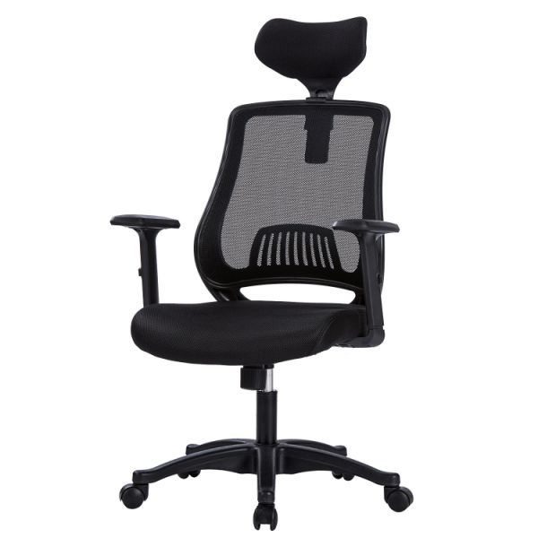 LIANFENG Ergonomic Office Chair, High Back Executive Swivel Computer Desk  Chair with Adjustable Armrests and Headrest, Back Lumbar Support, 1 Piece /  ...