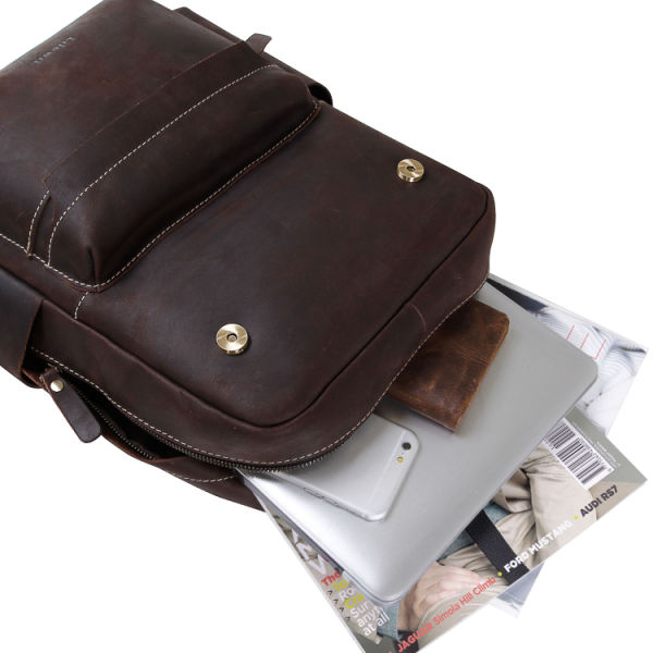 1d74cb5fd8cd Lifewit Real Leather Backpack Purse Laptop Bag Vintage Casual Fashion  Daypack Bookbag for Women
