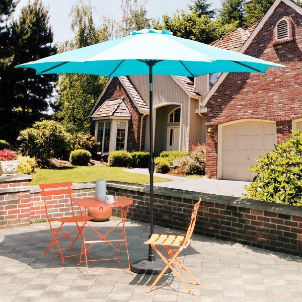 Shop For 9 Ft Outdoor Patio Market Table Umbrella Garden