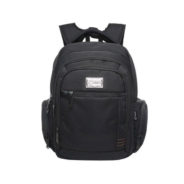 9450586f1a77 Crosslandy Laptop Backpack for Men Women Work Backpacks Fit 15.6 Inch  Laptop Travel College Bookbag Water Resistant Black Medium 1 Piece / Bag