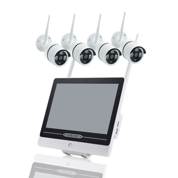 4ch 12 5inch wifi wireless nvr kit 1 Set / Box