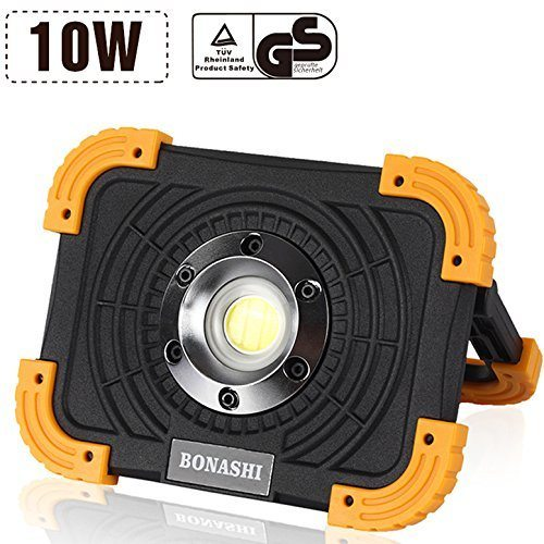 Shop For BONASHI 10W Rechargeable COB LED Work Light Heavy