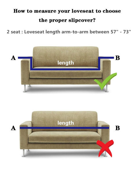 Shop For SAXTX Stretch Couch Slipcover, Waterproof Non