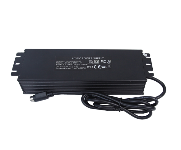 Appoved Ce UL Certificated 200W LED Waterproof Power Supply for Light, Industry, Construction, Digital Products, Vehicle