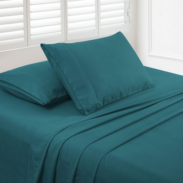 Shop For Luxe Manor 105 GSM 4pc Queen Size Bed Sheet Set