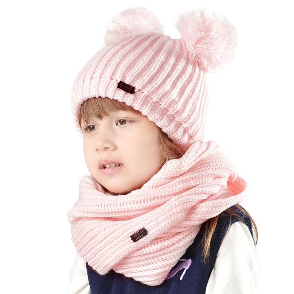 8767d7b3 FURTALK Kids Winter Hat Pom Beanie Knit Skull Cap Hats for Children Baby Boys  Girls Toddler