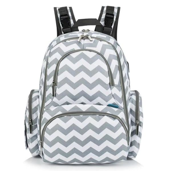 5d20ee51e079 CLOUDYBAY Baby Diaper Backpack With Insulated Pockets Large Size Diaper Bag  Backpack Waterproof Multi-Function Travel Bags