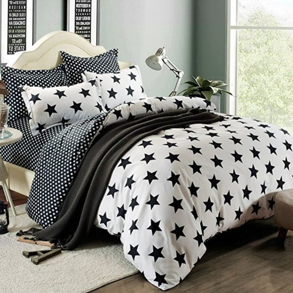 Shop For Fashionlife Bedding Collection Black Star Solid