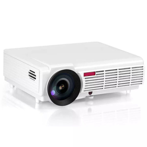 Smart Android Wireless WiFi Full HD 1080P Projector Proyector LED 3D  Multimedia Home Theater Cinema 1080P Beamer Home Theater Projector 1 Piece  / Box