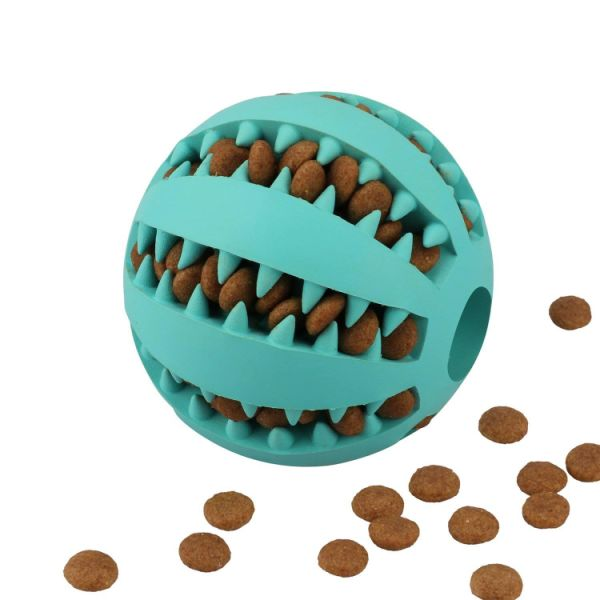 Shop For Puppy Small Medium Dog Toys Balls Rubber Durable Tough Iq