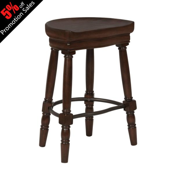 Fine Argohome Pub Bar Stool Without Chairback Bistro Dining Kitchen 26 Seat High Wood Barstools Chairs Cherry 1 Piece Carton Machost Co Dining Chair Design Ideas Machostcouk