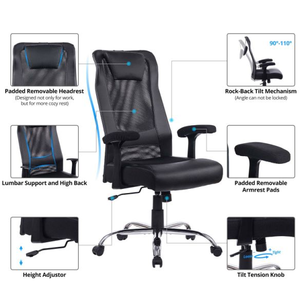 Shop For Von Racer High Back Mesh Office Chair