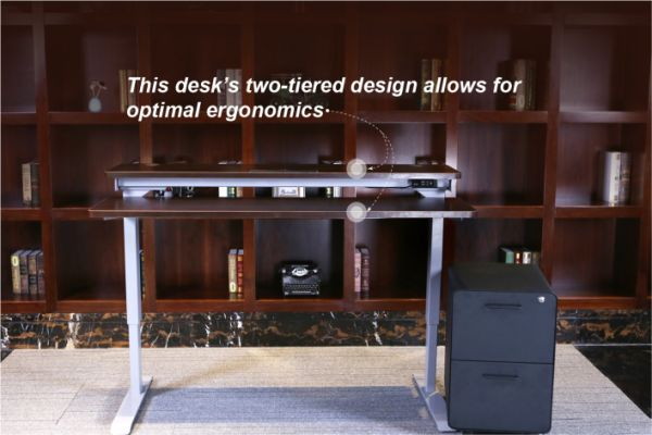 Shop For Aiterminal Split Top Electric Stand Up Desk