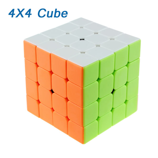 4x4x4 Professional Ultra-smooth Speed Magic Cube Colorful Puzzle Twist Kids Gift