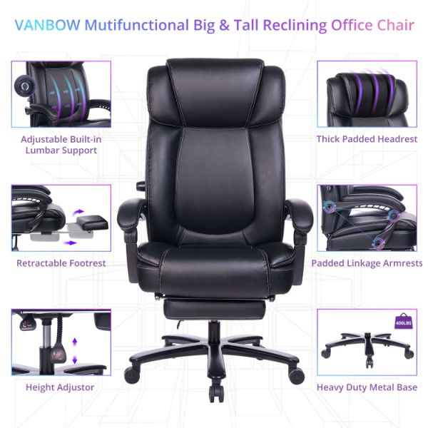 Brazil Furniture Waterfall Back Child Recliner.Vanbow Big And Tall Reclining Leather Office Chair High Back Executive Computer Desk Chair With Adjustable Built In Lumbar Support Angle Recline