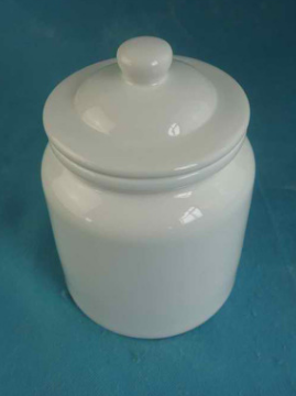 Sublimation Blank Ceramic Cookie Jar (Sample by Air)