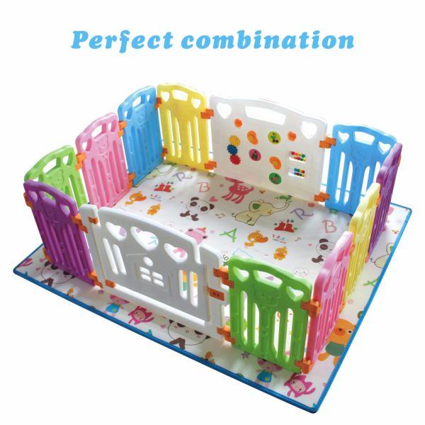 Play Mat Foam Floor Gym Slip Eversible Waterproof Portable Baby Toddler Outdoor Or Indoor Forest