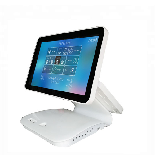 MJ 7850 All in one POS Device with two display screen