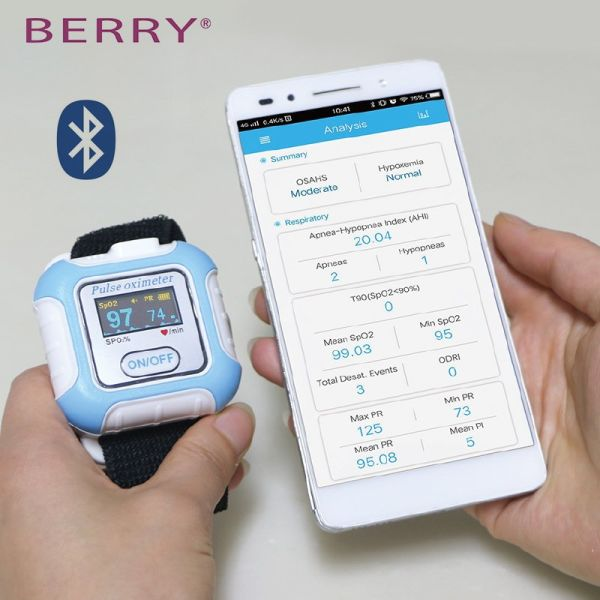 Shop for Apnea Diagnosis Wrist Fingertip Pulse Oximeter With