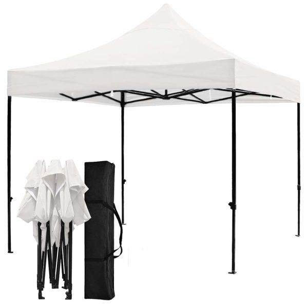Pop Up Canopy Tent >> Snail 10 X10 Ez Pop Up Canopy Tent With 420d Top Shade For Beach Heavy Duty Waterproof Outdoor Commercial Tents Instant Sun Shelter Gazebo With