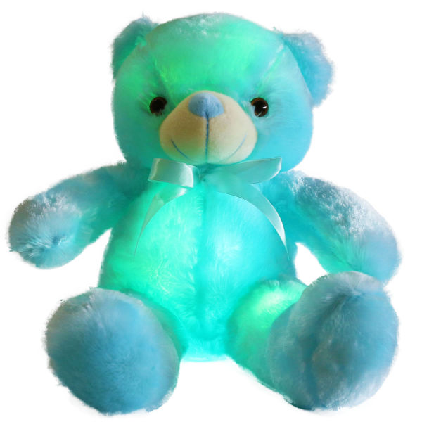 Shop For Free Dropshipping Creative Light Up Led Inductive Teddy