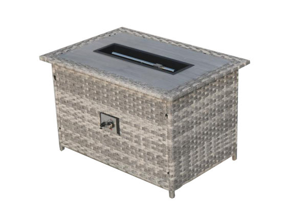 Shop for Direct Wicker Fire Pit Table With Chair Rattan ...