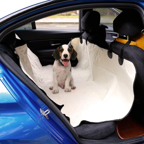 Dog Car Protector >> Kinbor Pet Car Seat Covers Non Slip Hammock Dog Car Seat Protector For Cars Trucks And Suv Beige 1 Piece Carton