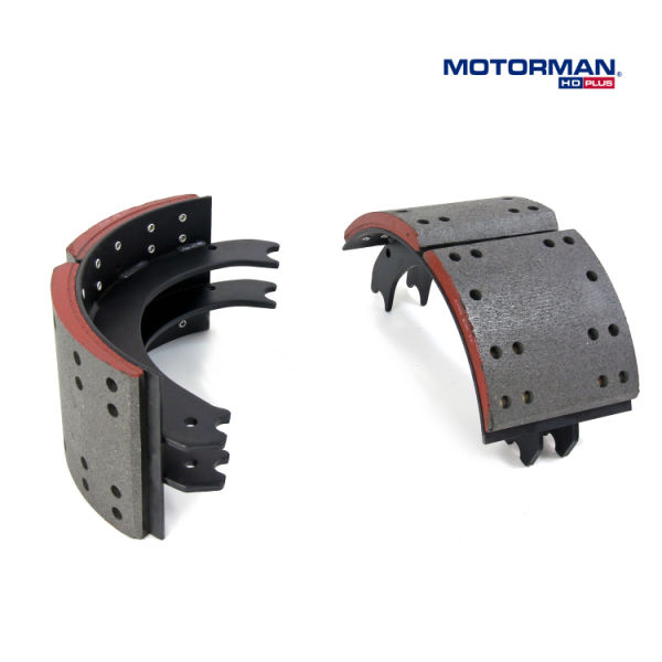 PROMOTION - (MOTORMAN HD) Truck and Trailer Brake Shoe with Eaton ES Front Axle