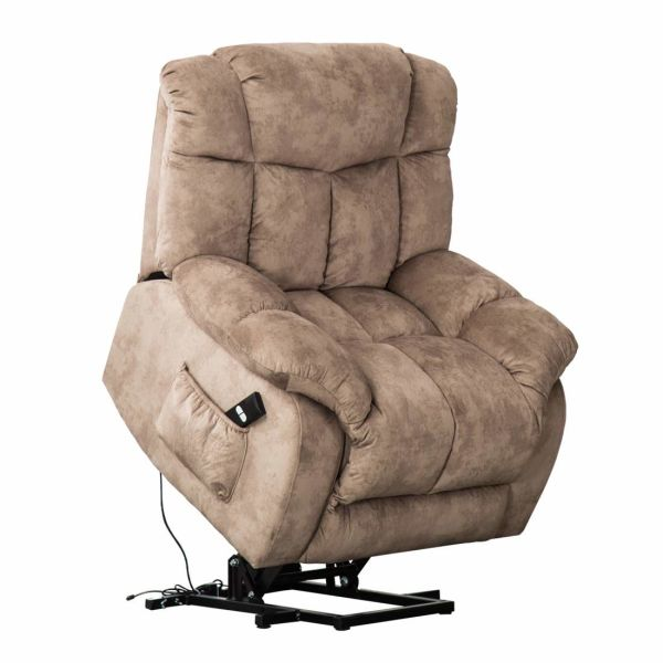 Shop For Canmov Power Lift Chair Soft Fabric Upholstery Recliner
