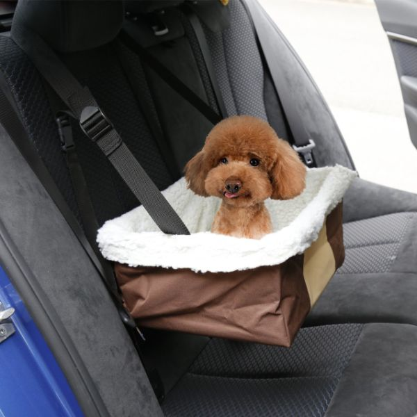 Pet Booster Seat >> Shop For Kinbor Portable Car Pet Booster Seat With Clip On Safety