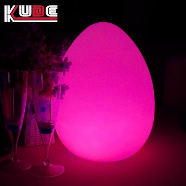 Shop For Waterproof Floating Led Egg Lights D22 H28cm Rgbw Color