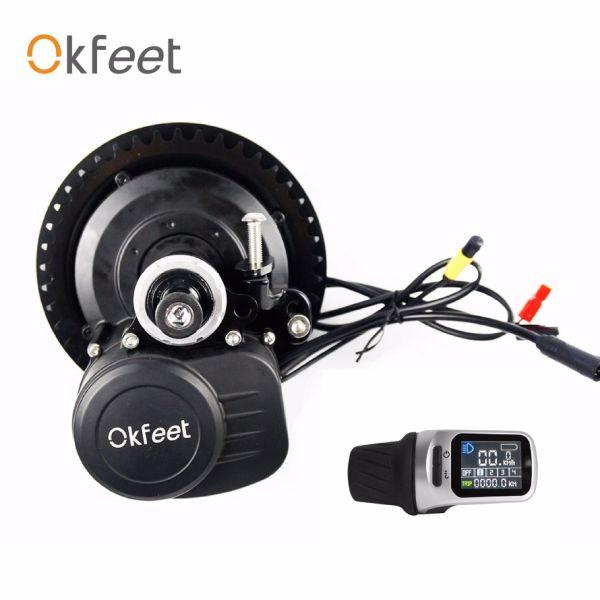 Okfeet Xh18display Tongsheng Electric Bicycle Kit Torque Sensor 36V  250/350W 1 Piece / Box