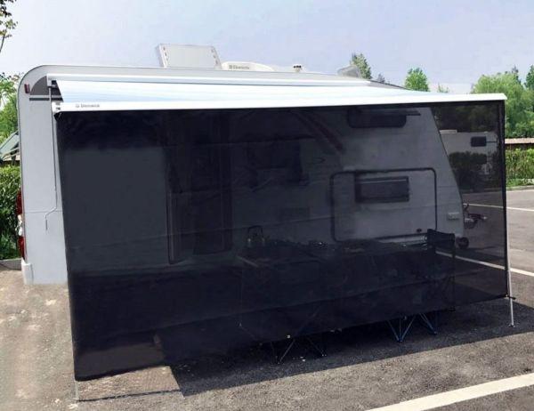 Shop for Tentproinc RV Awning Sun Shade 7'x18' Black Mesh ...