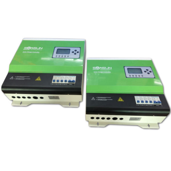 50A Solar Charge Controller with LCD and LED Display for Solar Power System