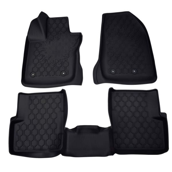 Custom Fit Floor Mats >> Custom Fit Floor Mats Heavy Duty Rubber Floor Mats Fits Jeep Renegade 2016 2017 2018 3 Piece Front Rear Full Set Liners 3 Pieces Carton