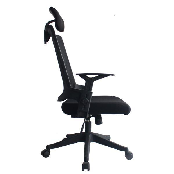 Heonsit Furniture Ergonomic Office Chair High Back Mesh Chair with  Adjustable Headrest and Armrests, Tilt Lock, Lumbar Support Mesh Desk  Executive ...