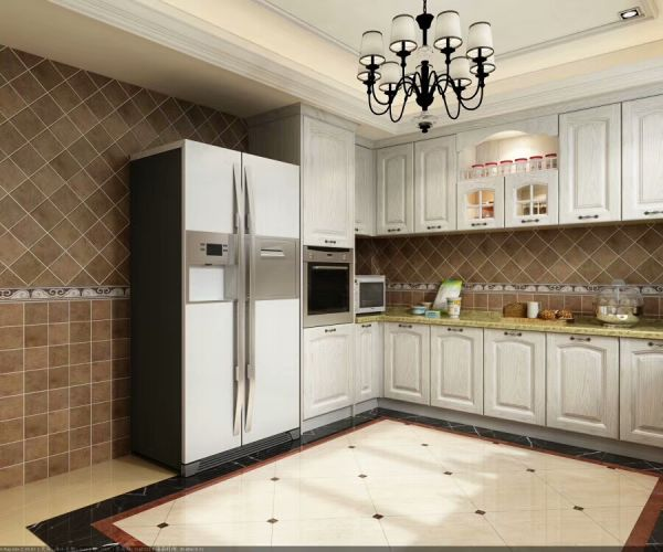 Original Cabinet Factory From Shandong Province Of China Kitchen Cabinet For Usa Family 1 Piece Box