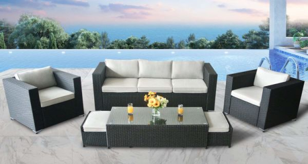 Shop For Outdoor Rattan Wicker Patio Furniture 6pcs