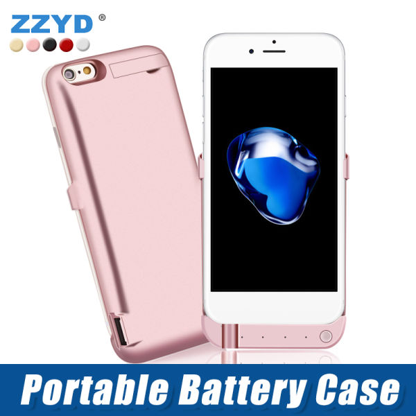 quality design 82ef9 1b62c ZZYD Phone Battery Case for iPhone 6 1 Piece / piece
