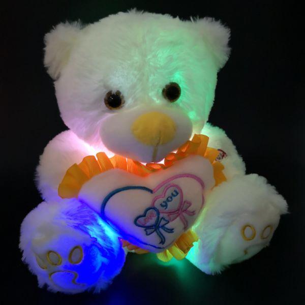 Shop For Free Shipping 30cm Cute Plush Led Teddy Bear Light Up