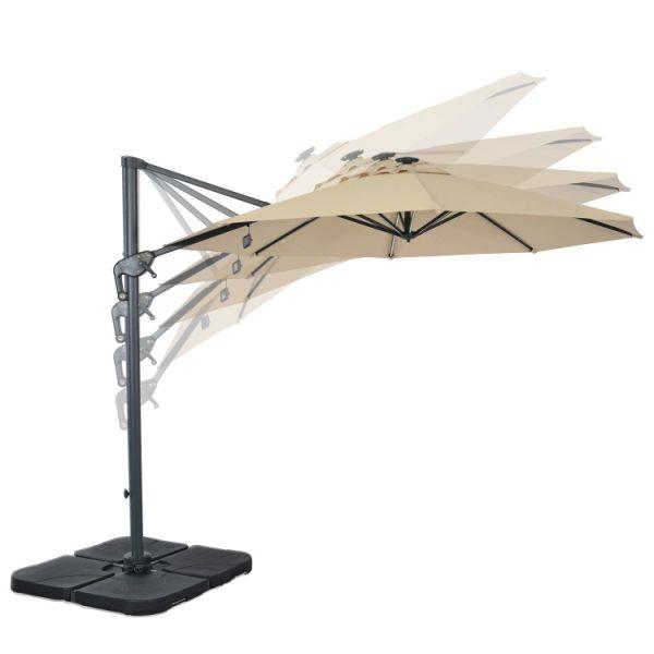 Shop For Suna Outdoor Patio Umbrella Offset Cantilever