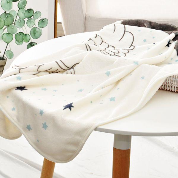 Shop for baby milestone blanket angle pattern soft flannel velvet