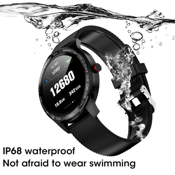 CYBORIS New Smart Watch Women Men Smart Watch For Android iOS Electronics Smart Clock Fitness Tracker IP68 Waterproof Ultra-thin Smart Watch