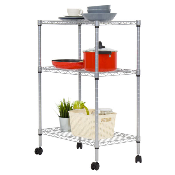 Shop for Kinbor 3-Tire Shelving Steel Wire Adjustable ...