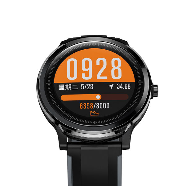CYBORIS SN80 smart watch men IP68 Waterproof full touch smartwatch screen heart rate blood pressure fitness track sports music camera