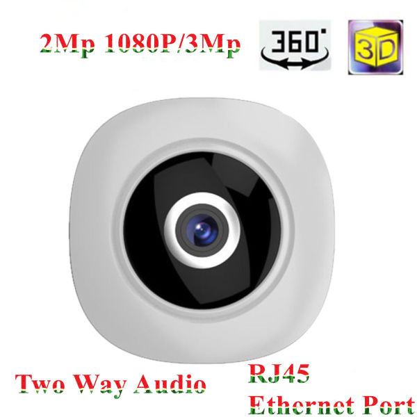 V380 App MStar Chipset Wifi IP Camera360 Fisheye Lens Ethernet Port and  H 265 Video 1 Piece / Box
