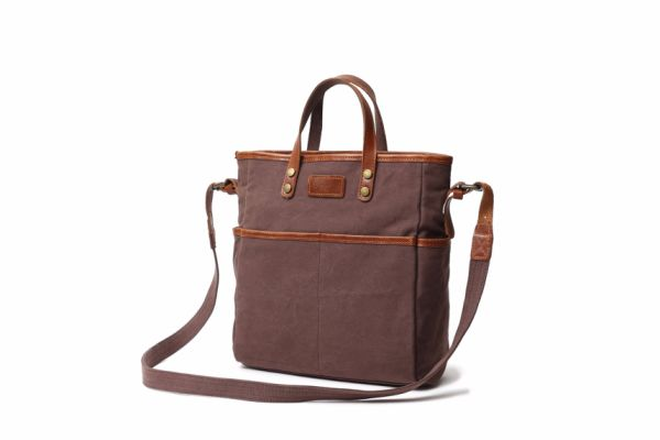 7ff087dcd48d REDSWAN Totes Bag Canvas Waxed Canvas Messenger Bag Type-Shifting Canvas  Bag Womens Large Waterproof