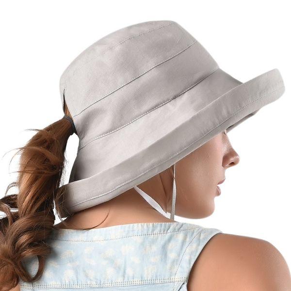 5e68a7d7598 Amazing FURTALK Womens Cotton Reversible Bucket Hat Outdoor Fishing Packable  Beach Sun Hat UPF 50+