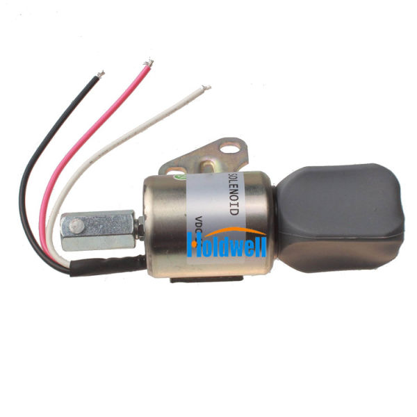 Holdwell Fuel Shutdown Solenoid SA-4899-12 1756ES-12SUL5B1S5 for Kubota  D722 Z482 D902 Super Mini Engine 1 Piece / Carton